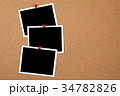 コルクボードとフォトプリント 34782826