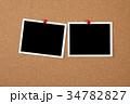 コルクボードとフォトプリント 34782827