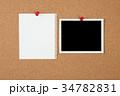 コルクボード,フォトプリント,書類, 34782831