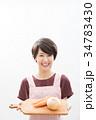 ショートヘア 女性 若いの写真 34783430