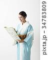 着物を着ている外国人 34783809