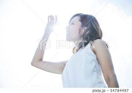 女性 UVケア ビューティー 美容 紫外線 34784497