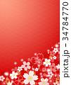和柄 花 梅のイラスト 34784770