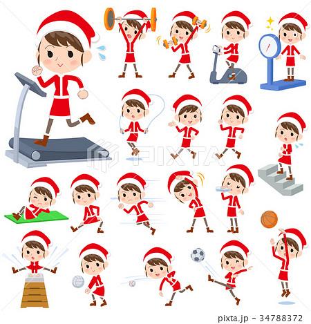 Santa Claus Costume mom_Sports & exercise 34788372
