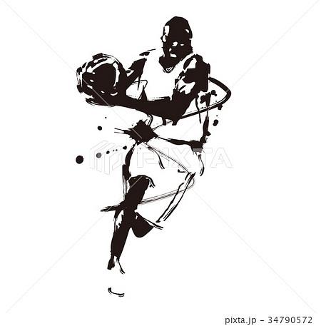 バスケットボール 34790572