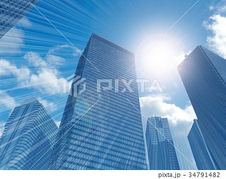 高層ビル 34791482