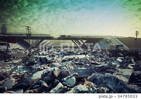 Apocalyptic landscape 34795033