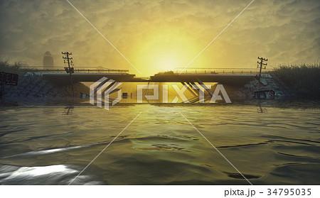 Apocalyptic landscape 34795035