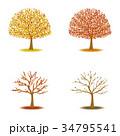 紅葉 秋 葉のイラスト 34795541
