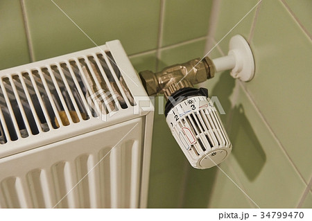 Radiator heating detailの写真素材 [34799470] - PIXTA