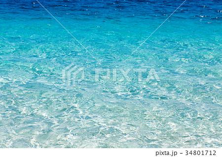 水面 透明 クリア 34801712