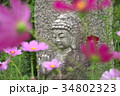 コスモス寺の石仏 34802323