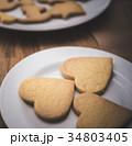 お菓子作り ハート ハート型の写真 34803405