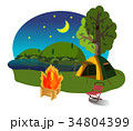 キャンプファイアー 34804399