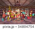 新 新しい クリスマスのイラスト 34804754