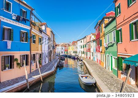 ヴェネツィア ブラーノ島 34805923