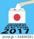 投票用紙 投票 選挙のイラスト 34806381