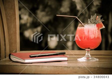 watermelon cocktailの写真素材 [34806643] - PIXTA