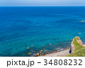 神威岬 海 海岸の写真 34808232