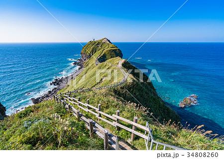 《北海道》神威岬・自然風景 34808260