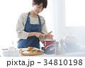 女性 手料理 料理の写真 34810198