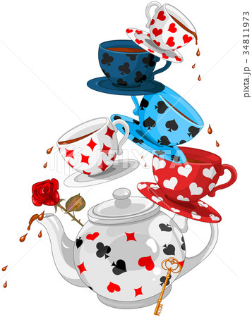 Wonder Tea Party Pyramid 34811973