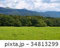 雲と山と草原 34813299