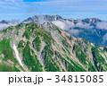 山岳 北アルプス スバリ岳の写真 34815085