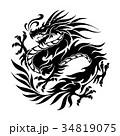 ドラゴンのイラスト 34819075