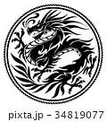 ドラゴンのイラスト 34819077