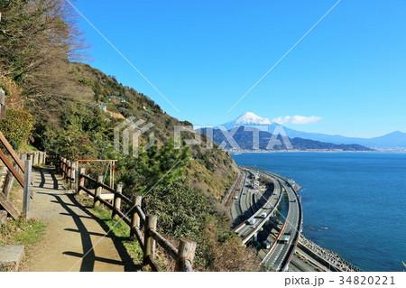 静岡県 薩埵峠からの富士山 34820221