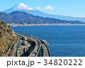駿河湾と東海道の風景 そして富士山 34820222