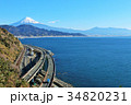 富士山 海 駿河湾の写真 34820231