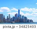 ニューヨークの街並み 34825403