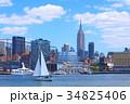 ニューヨークの街並み 34825406