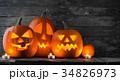 ハロウィン かぼちゃ カボチャの写真 34826973