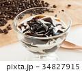 コーヒーゼリー デザート コーヒー豆 ゼリー 34827915