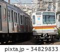 東急東横線 電車 東京メトロの写真 34829833