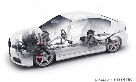 transparent car and interior parts 34834766