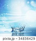 ウォーター 水 水分のイラスト 34836429