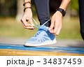 アスリート 靴 シューズの写真 34837459