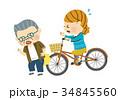 事故 自転車 自転車事故のイラスト 34845560