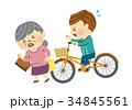事故 自転車 自転車事故のイラスト 34845561