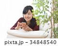 スマホ 女性 メールの写真 34848540