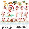 Santa Claus Costume boy_cooking 34849078
