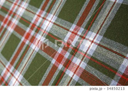 Tartan wool.の写真素材 [34850213] - PIXTA