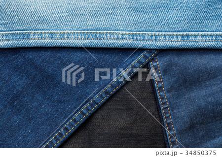 JEANS texture backgroundの写真素材 [34850375] - PIXTA