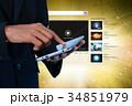 コンピューター パソコン 若いのイラスト 34851979