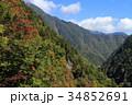 風景 高瀬渓谷 北アルプスの写真 34852691