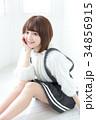 女性 若い ヘアスタイルの写真 34856915
